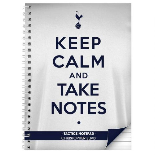 Tottenham Hotspur Keep Calm A4 Notebook